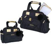 Kit bolsa maternidade masterbag baby soho 2 peças bolsa e frasqueira