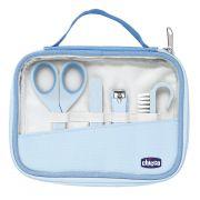 Kit Cuidados E Higiene Do Bebê Manicure Completa Chicco azul