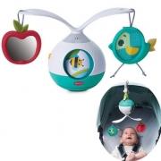Mobile Musical Berço Bebê Brinquedo Infantil Carrinho Bebê Conforto 2 em 1 Animador Tummy Time Meadom Days - Tiny Love