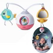 Mobile Musical Berço Bebê Brinquedo Infantil Carrinho Bebê Conforto 2 em 1 Animador Tummy Time Princess Tales - Tiny Love