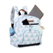 Mochila Maternidade Noah Manhatan Azul - Masterbag Baby