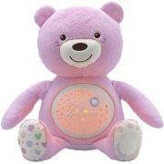 Projetor para Bebê Urso Chicco - Rosa