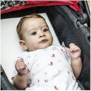 Travesseiro anti-refluxo para carrinho e berço kiddo