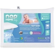 Travesseiro para bebê Nasa Baby Antissufocante NAP 25x33x06