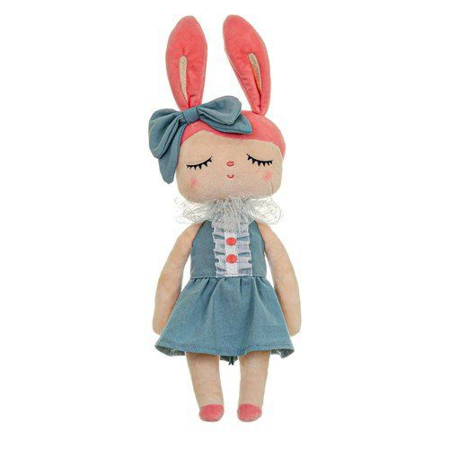 Boneca Metoo Angela Liz Azul 33 cm