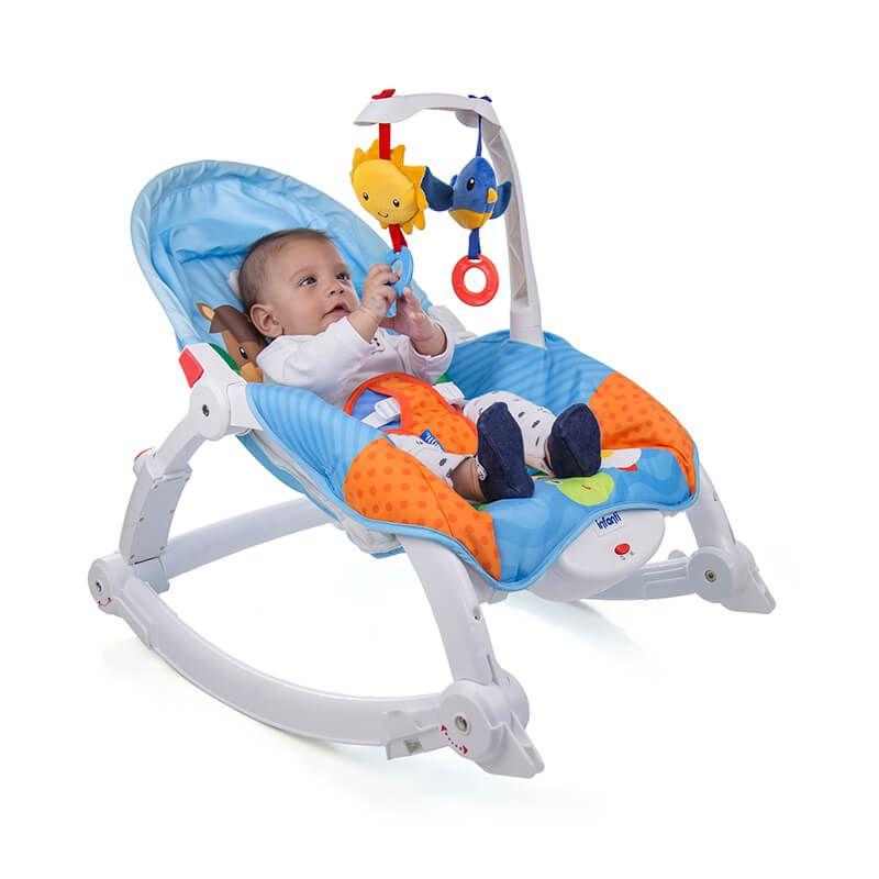 Cadeira de descanso Bouncer Pisolino Farm - Infanti
