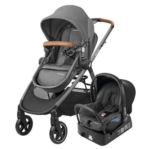 Carrinho  de bebê maxi-cosi travel system Anna C/ bebê conforto e base