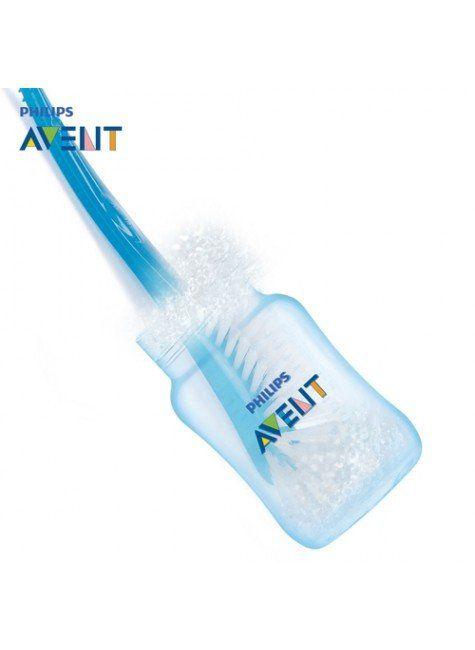 Escova para Lavagem de Mamadeiras e Bicos Philips Avent Azul