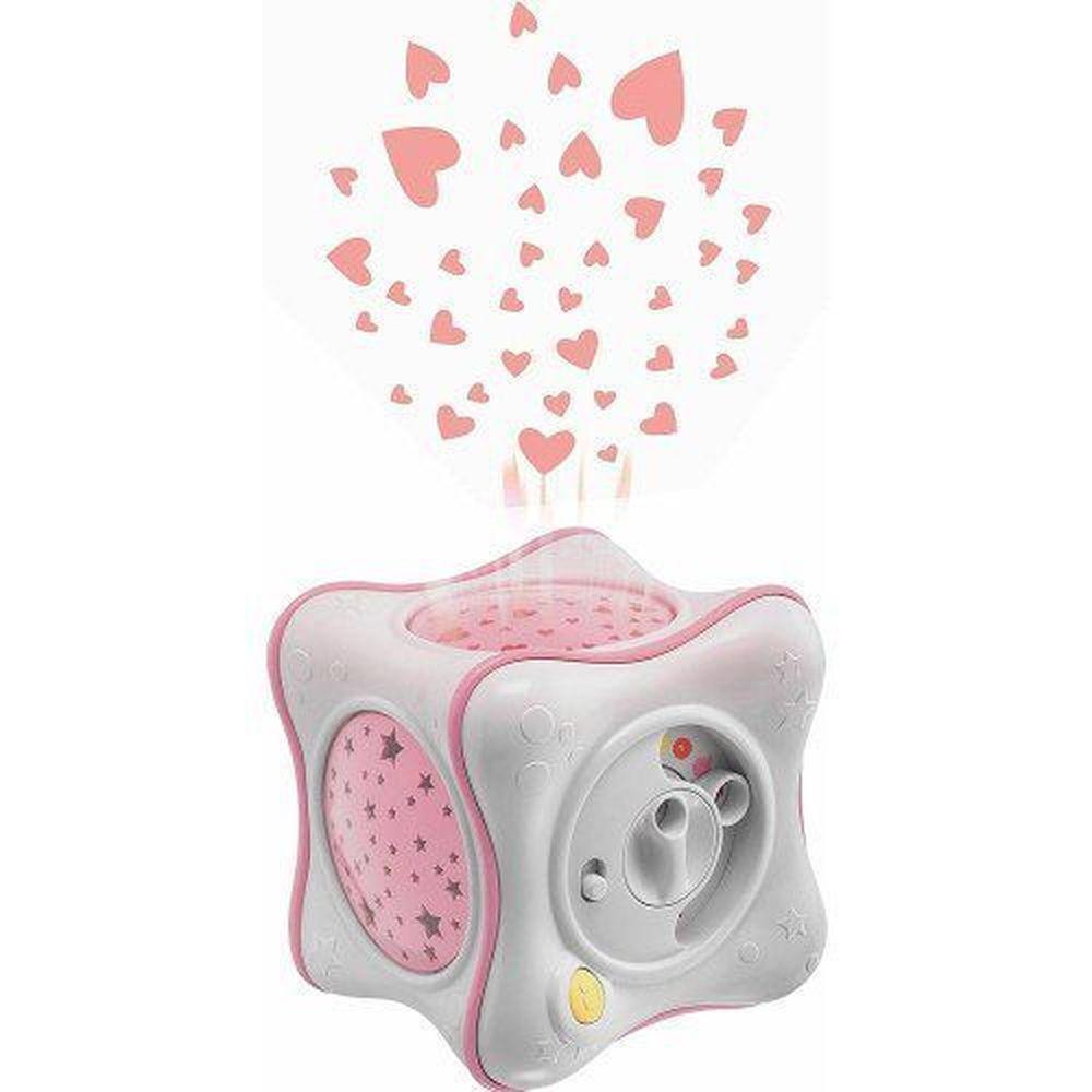 Mobile Projetor Rainbow Cube Bebê Rosa - Chicco