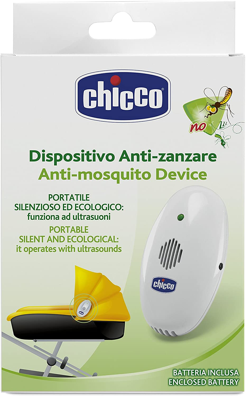 Repelente bebê Ultrassônico Portátil Chicco Kit 2 Unidades
