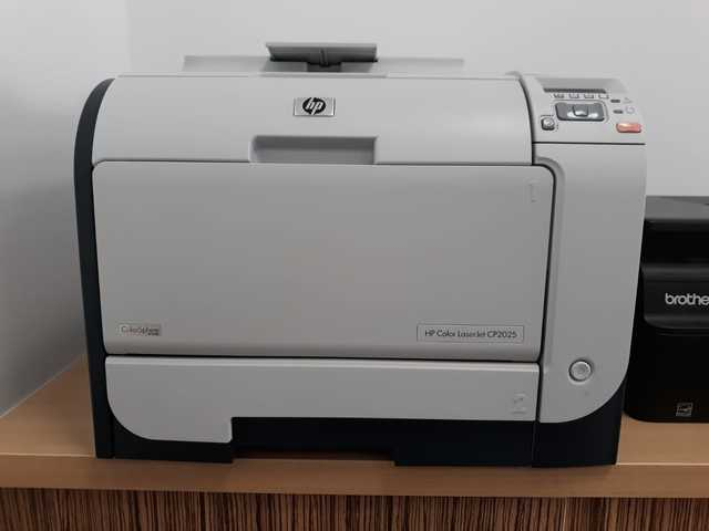 Impressora HP Color LaserJet CP2025