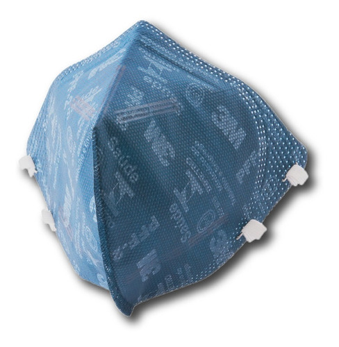 Kit 10 Máscara 3m Pff2 N95 9820 proteção Inmetro Nfe