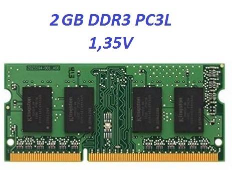 Memoria DDR3 2GB PC3L  notebook