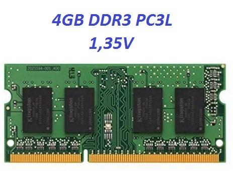 Memoria DDR3 4GB PC3L  notebook