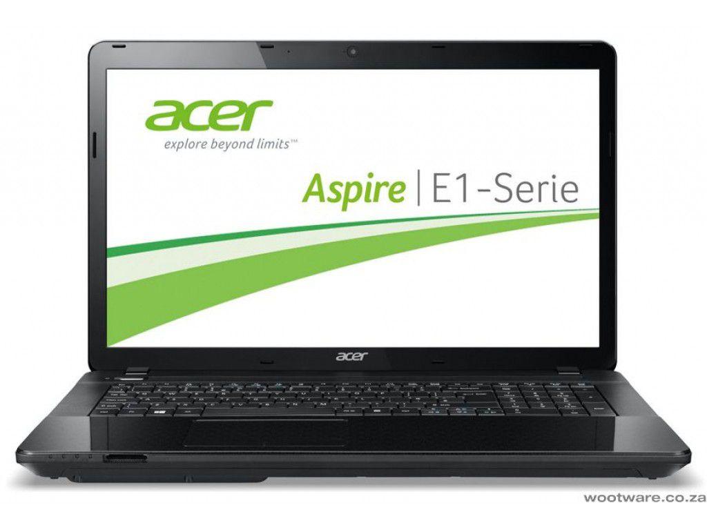 Notebook Acer Aspire E1 series