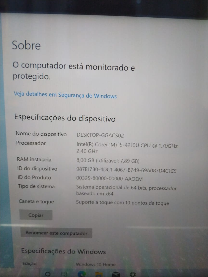 Notebook Asus Touch UX303L i5/8GB/120SSD