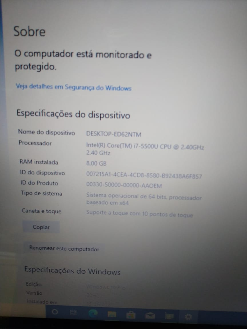 Notebook Dell Inspiron 3448 i7/8GB/120SSD