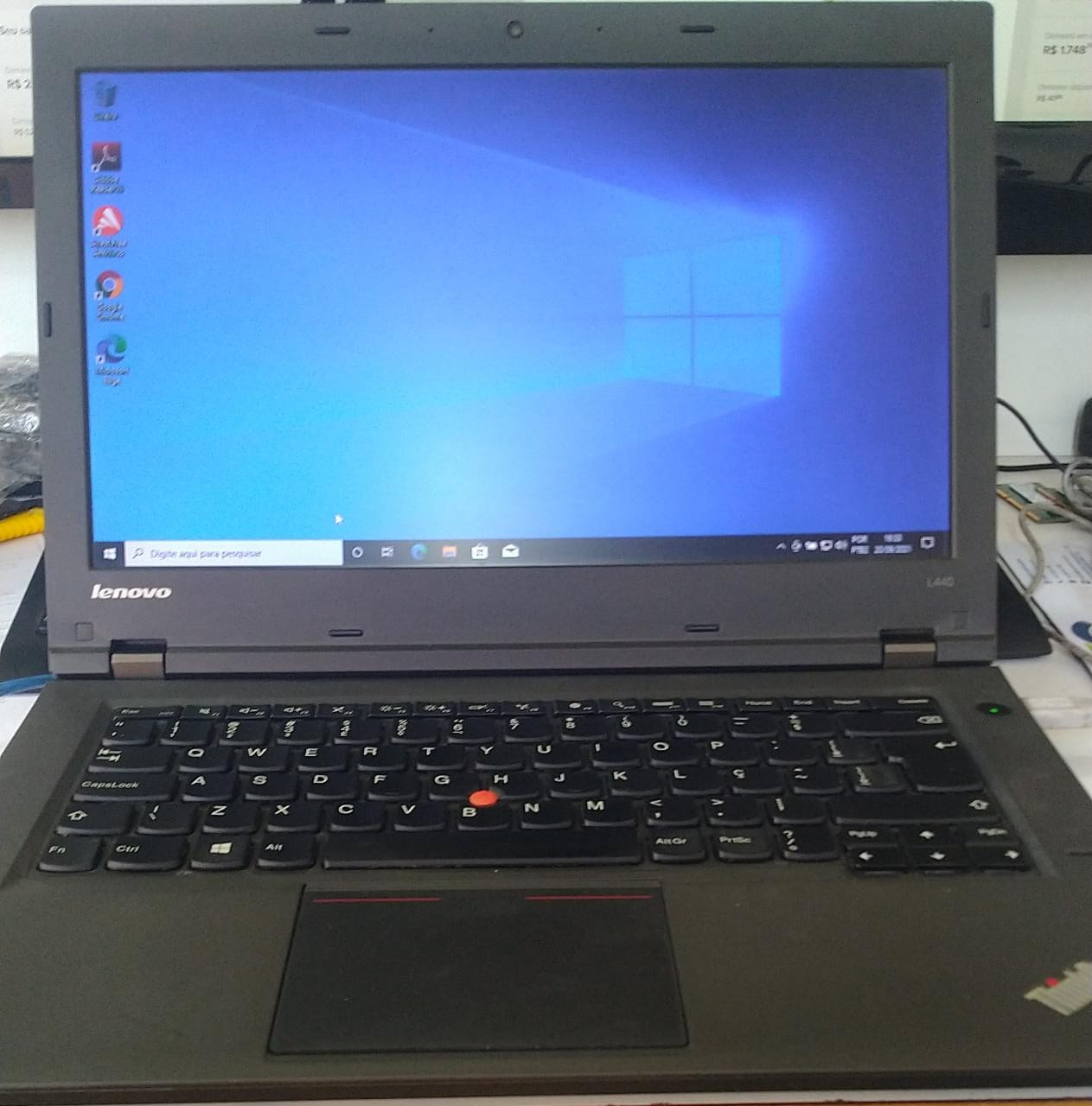Notebook Lenovo ThinkPad L440 i5/8gb/120SSD