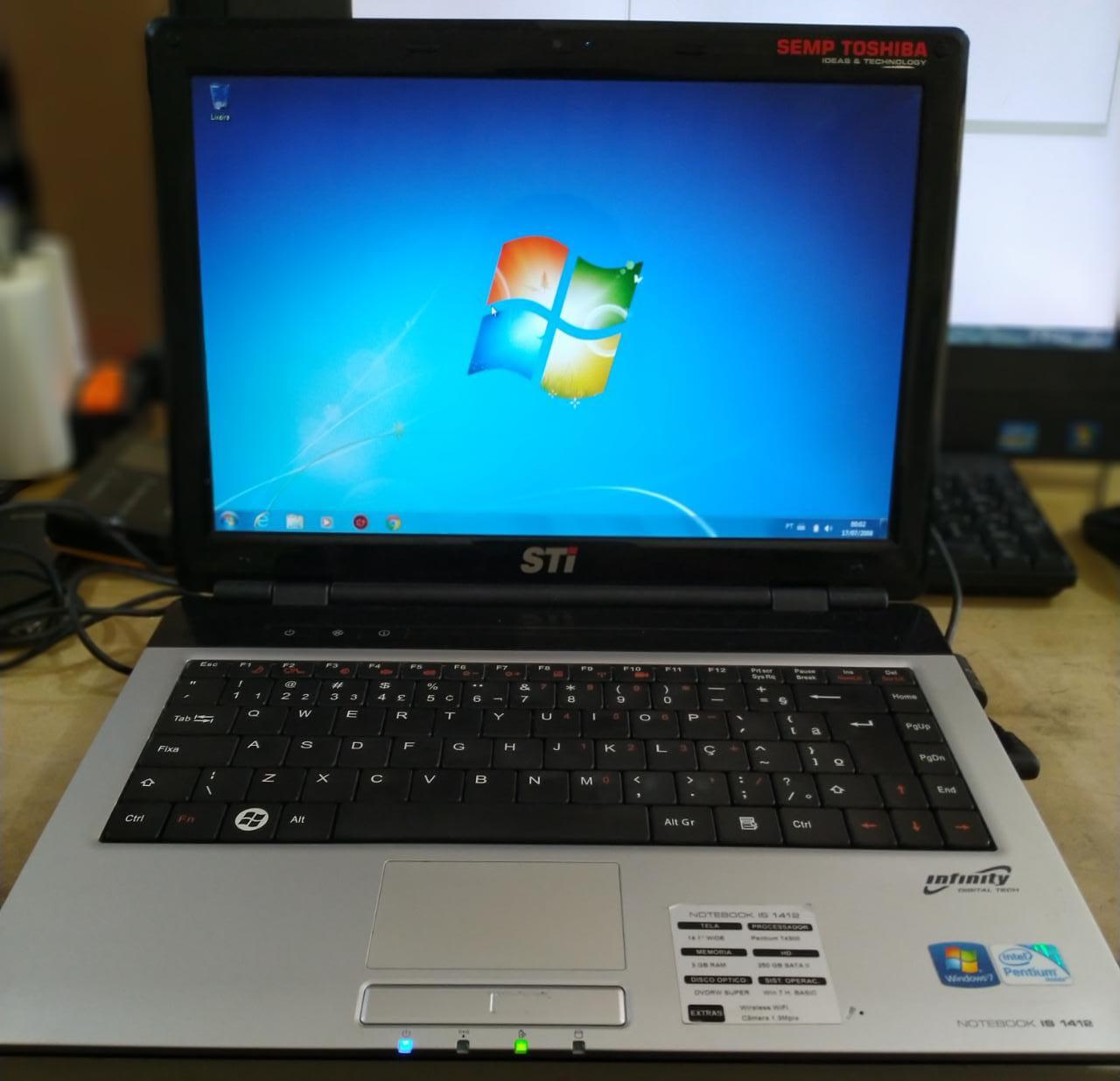 Notebook STI IS-1412
