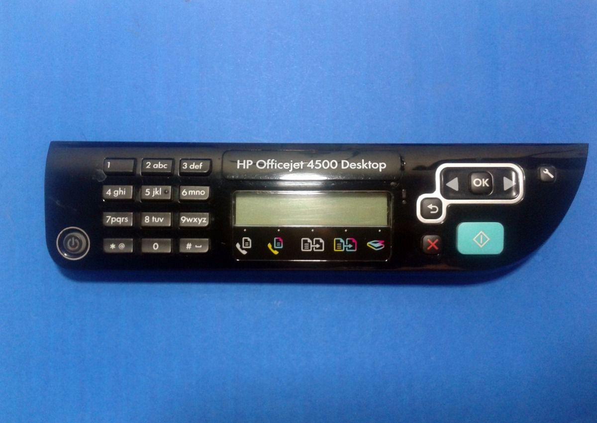 Painel HP- Officejet 4500 Desktop