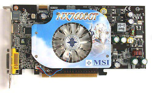 Placa de Video MSI - NX7600GT
