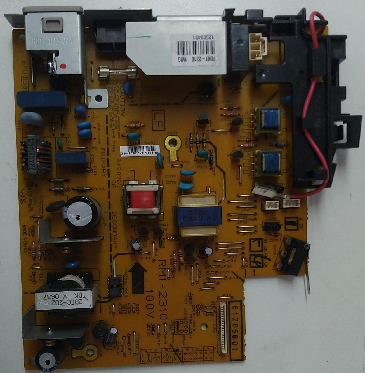 Placa Fonte HP Laserjet 1018 1022 Rm1-2315 / 2310