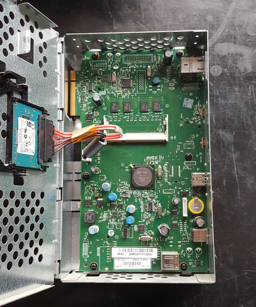 Placa Logica  Principal HP M600/602