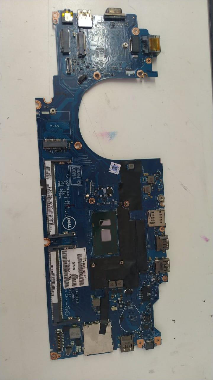 Placa Mae Dell - LA-E081P i5 7ª Lat. 5480