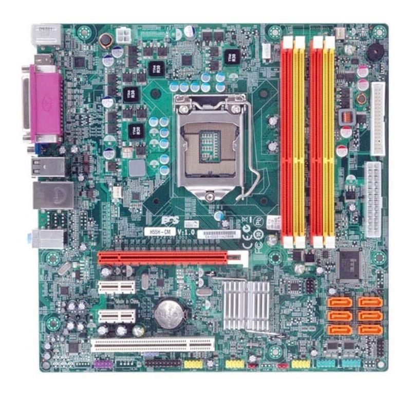 Placa Mae ECS - H55H-CM