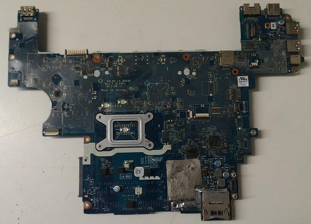 Placa Mae Notebook Dell - LA-9931P LAT. E6440