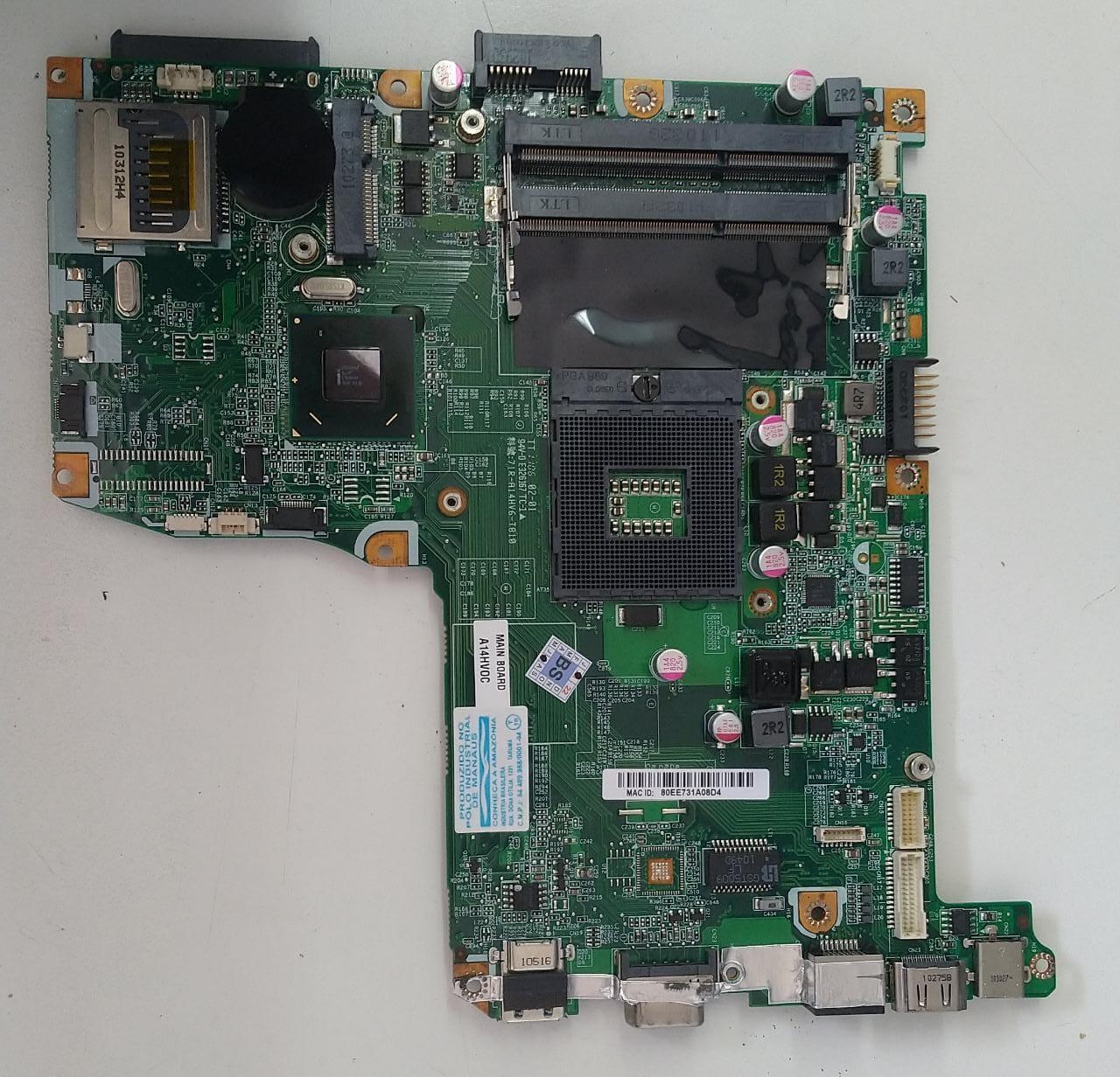 Placa mãe Notebook Philco - 71R-A14HV6-T810