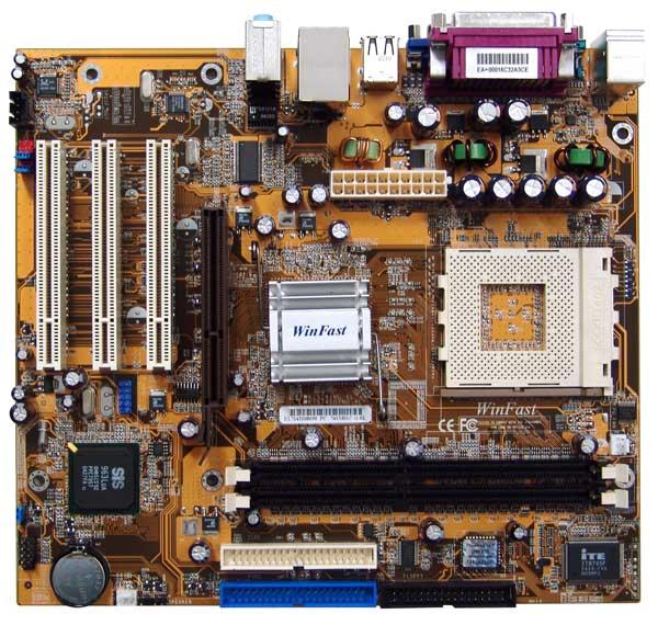 Placa Mãe WinFast - 741M01C-GX-6L