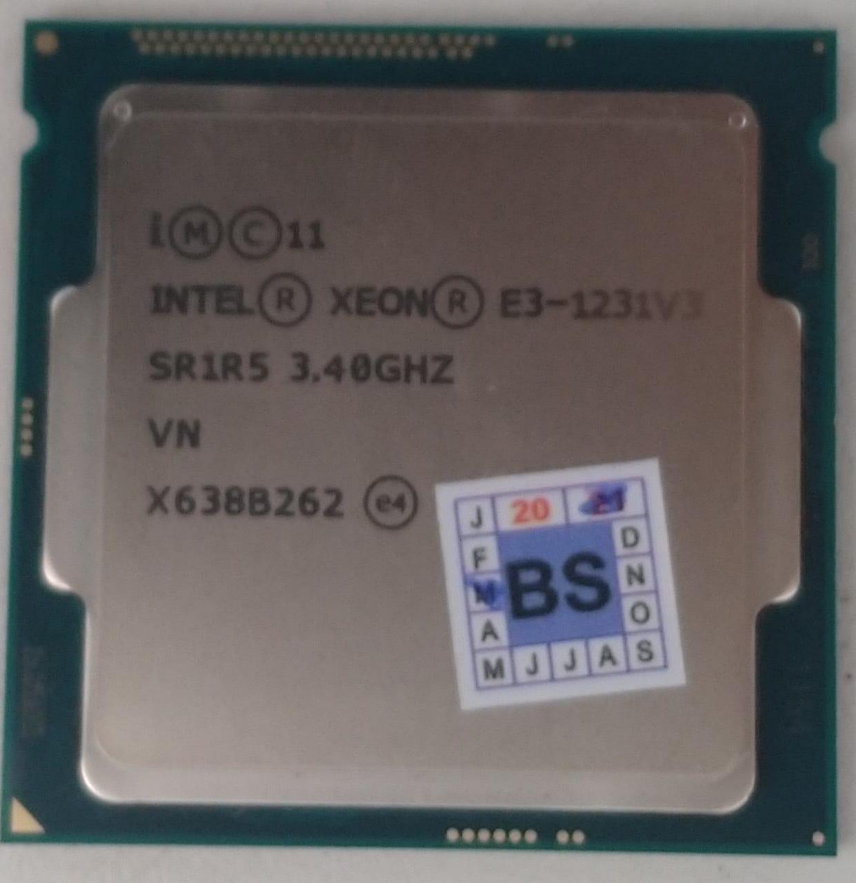 Processador Intel Xeon - E3 1231 V3 (SR1R5)