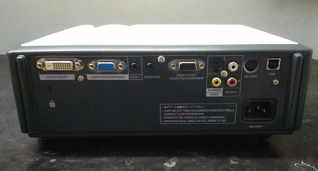 Projetor Sharp - XR-32X-L