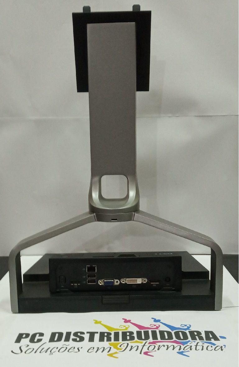 Suporte + Dock Três Estações De Acoplamento Para Laptop Dell