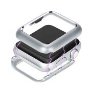 Bumper Case Capa Prata para Apple Watch 4 - TAM: 44 mm