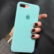Capinha iPhone Case Modelo Apple Para iPhone 7 e 8 Plus Verde