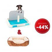 Compre 2 itens Sanitario de Cachorro Higienico e Camas Pet Luxo com 44% de desconto