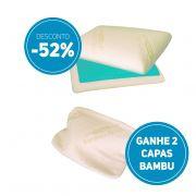 Compre AGORA 2 Travesseiros Nasa Original com capa ecológica de fibra de bambu