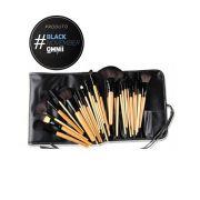 Kit Pincéis de Maquiagem Profissional 24 unidades