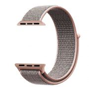 PULSEIRA Nylon Sport Loop STRAPS para Apple Watch 42/44 mm - Rosa