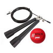 Speed Rope Corda Profissional com Manopla de PVC para Crossfit