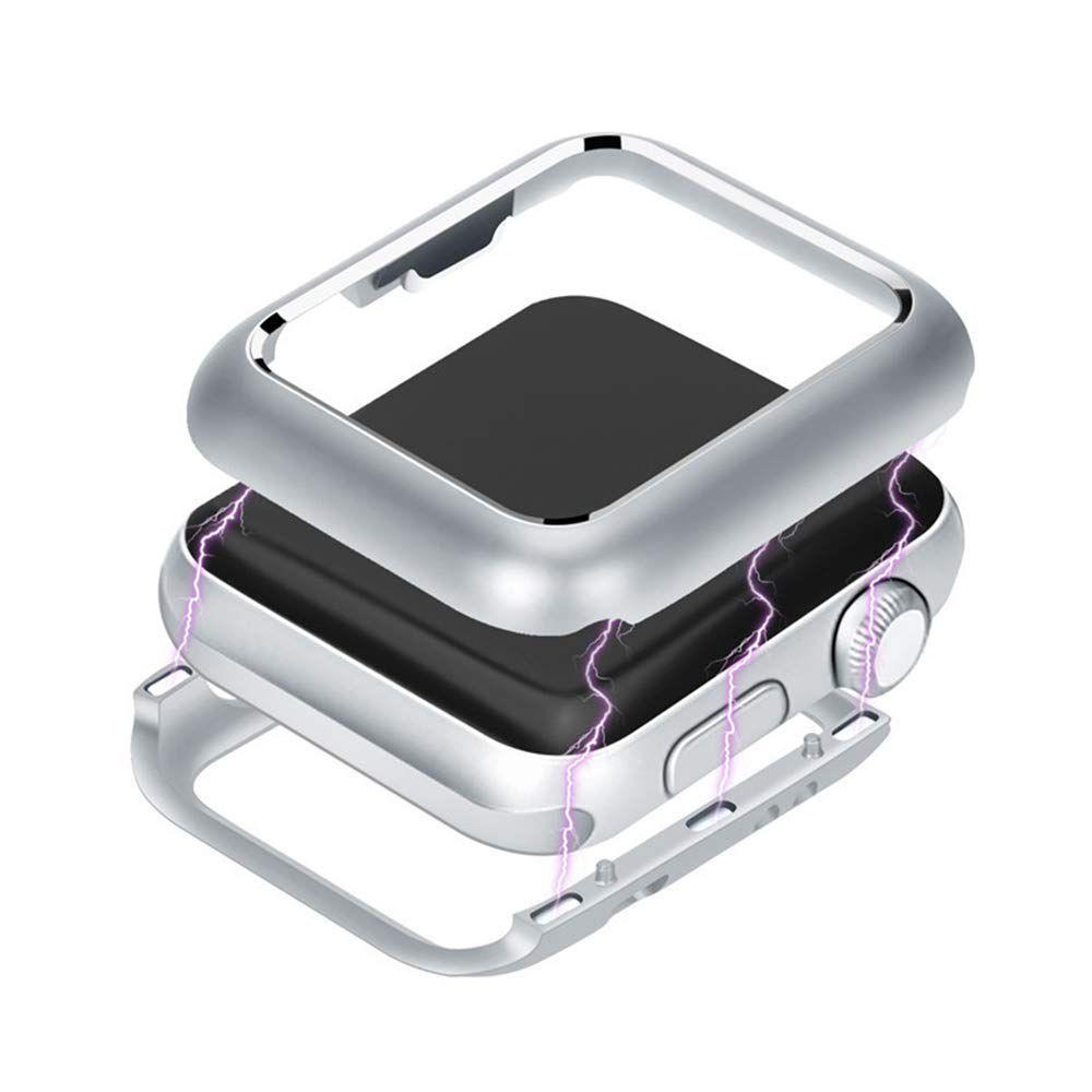 Bumper Case Capa Prata para Apple Watch 1 2 3 - TAM: 42 mm