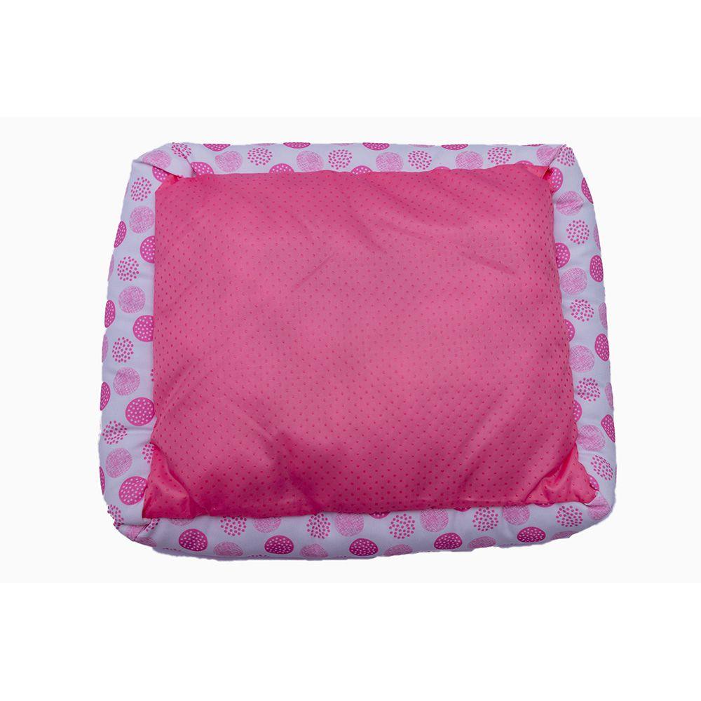 Cama Pet Refrescante para Cachorros Cães Gatos - Pink Balls