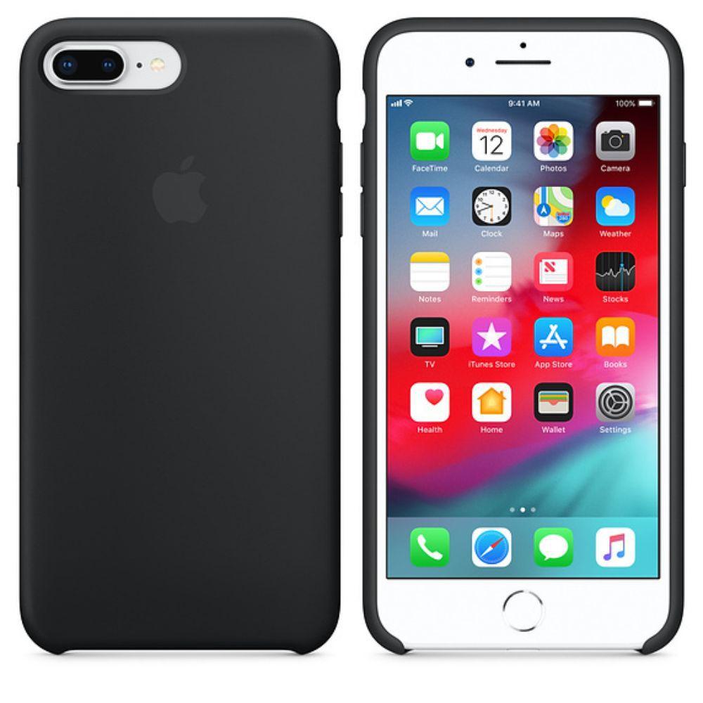 Capinha iPhone Case Modelo Apple Para iPhone 7 e 8 Plus Preto
