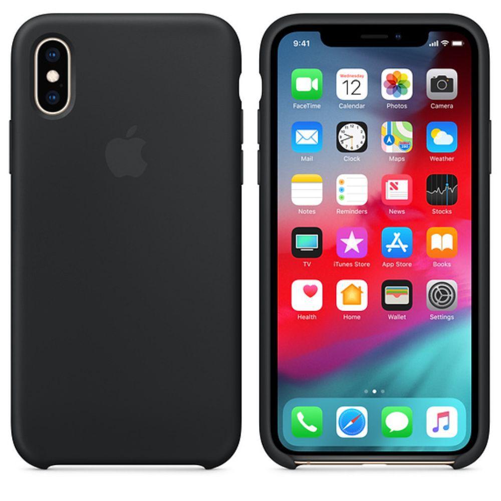 Capinha iPhone Case Para iPhone X XS Preta