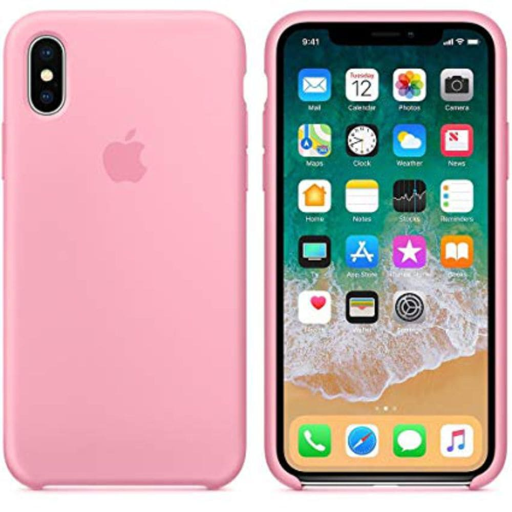 Capinha iPhone Case Modelo Apple Para iPhone X XS Rosa