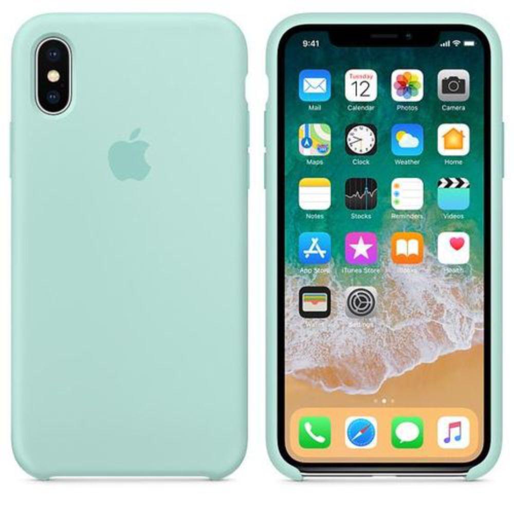 Capinha iPhone Case Para iPhone X XS Verde
