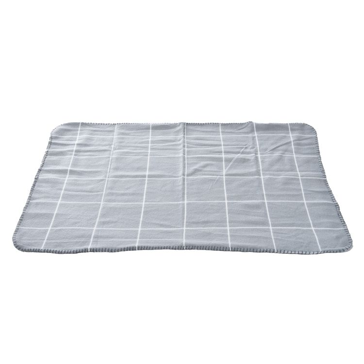 Cobertor para Cachorro manta cinza pet pack com 2