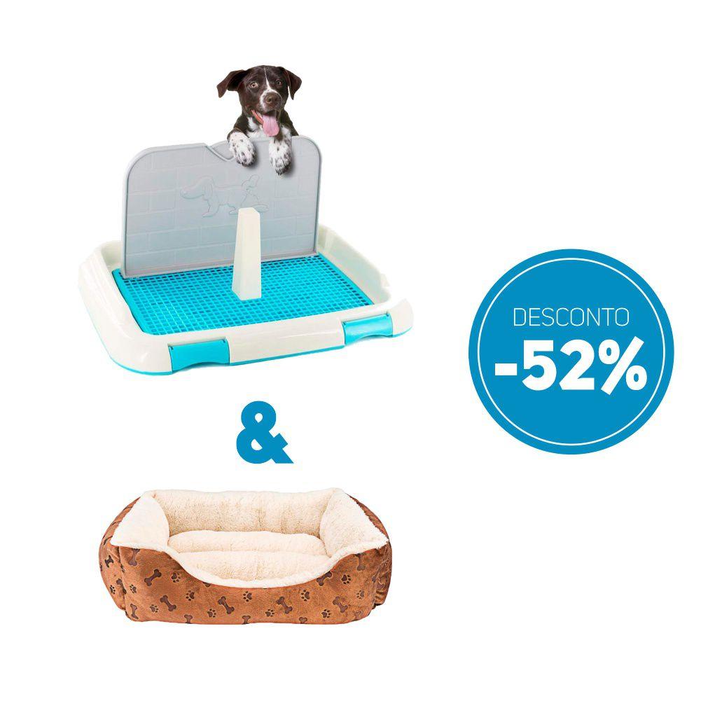 Compre 2 itens Sanitario de Cachorro Higienico e Camas Pet Luxo com 52% de desconto